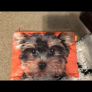 Large Yorkie Pouch by Catseye